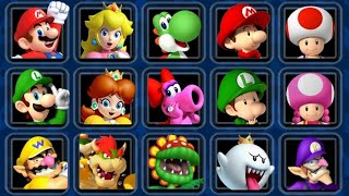 Mario Kart Double Dash HD - All Characters