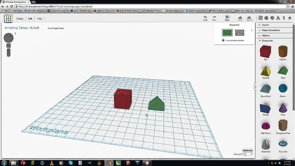 Learn to Design 3D Printer Objects in 5 Minutes - YouTube