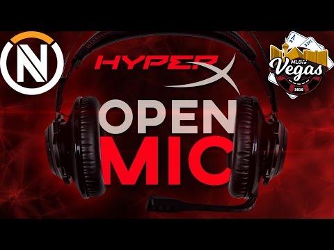 HyperX Open Mic - Ep 2. MLG LAS VEGAS - Mickie (EnVy Overwatch)