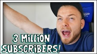3 MILLION SUBSCRIBERS! BIG ANNOUNCEMENT VIDEO!