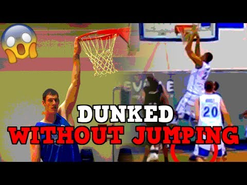 Thumbnail: 4 Basketball Players Who DUNKED WITHOUT JUMPING