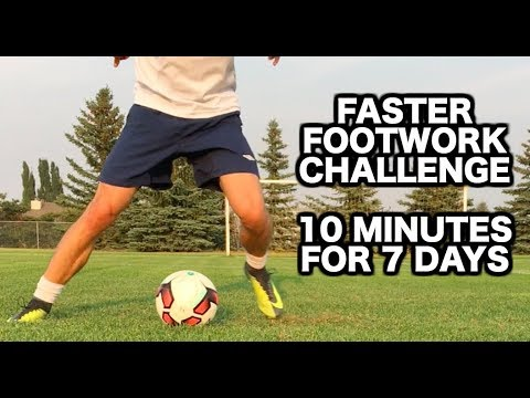 How to improve your footwork in soccer  10 Soccer drills for faster soccer footwork