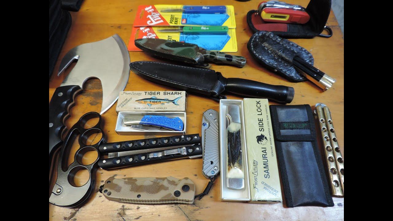 New Arrivals - Executioner, Flip It, Night Raider, Samurai, Tiger Shark        Retro Knives