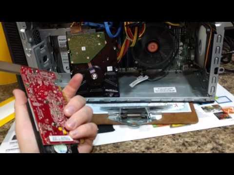 HP Envy video card 6 beep fix