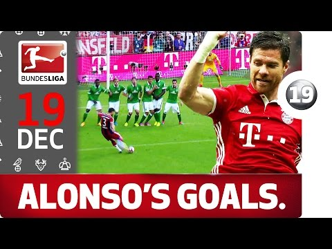 Xabi Alonso's Long Range Goals - Bundesliga 2016 Advent Calendar 19