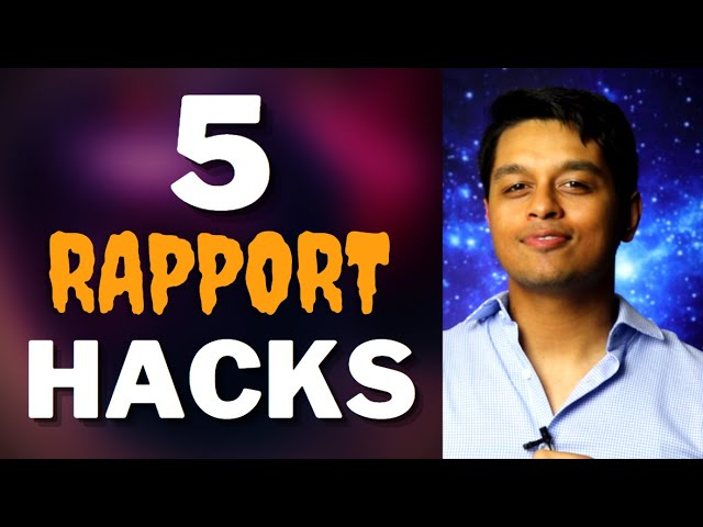 5 Ways on How to Build Rapport Faster