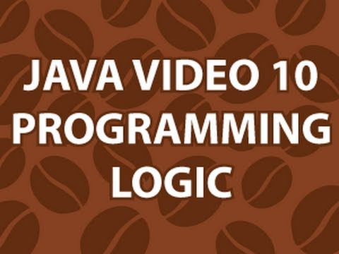 Java Video Tutorial 10