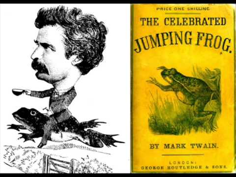 Mark Twain -The Celebrated Jumping Frog - YouTube