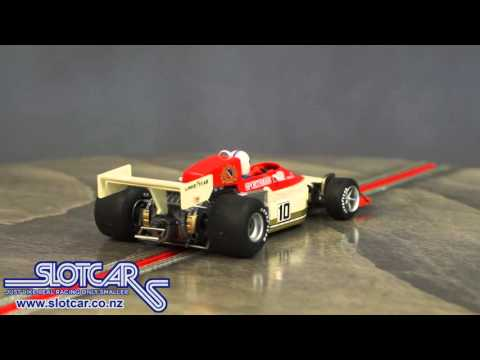 Flyslot Slot Car F1 March 761B 1977 Scheckter Slotcar 045102