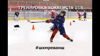 Бросок, пас, дриблинг. Тренировка хоккеиста u18