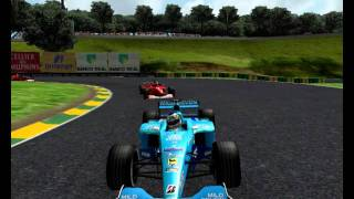 Sao Paulo Interlagos 2000 formula 1 uno year Season race F1C Racing F1 Challenge 99 02 World Championship Coloque a pasta da pista nova dentro da pasta racesimulations Grand Prix 4 GP4 2010 2011 2012 09 12 16 41 41 87