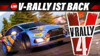 Rückkehr einer Rally-Legende? | V RALLY 4 Gameplay German | V Rallye 4 Live Let