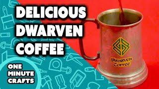 DWARVEN COFFEE MUG - One Minute Crafts