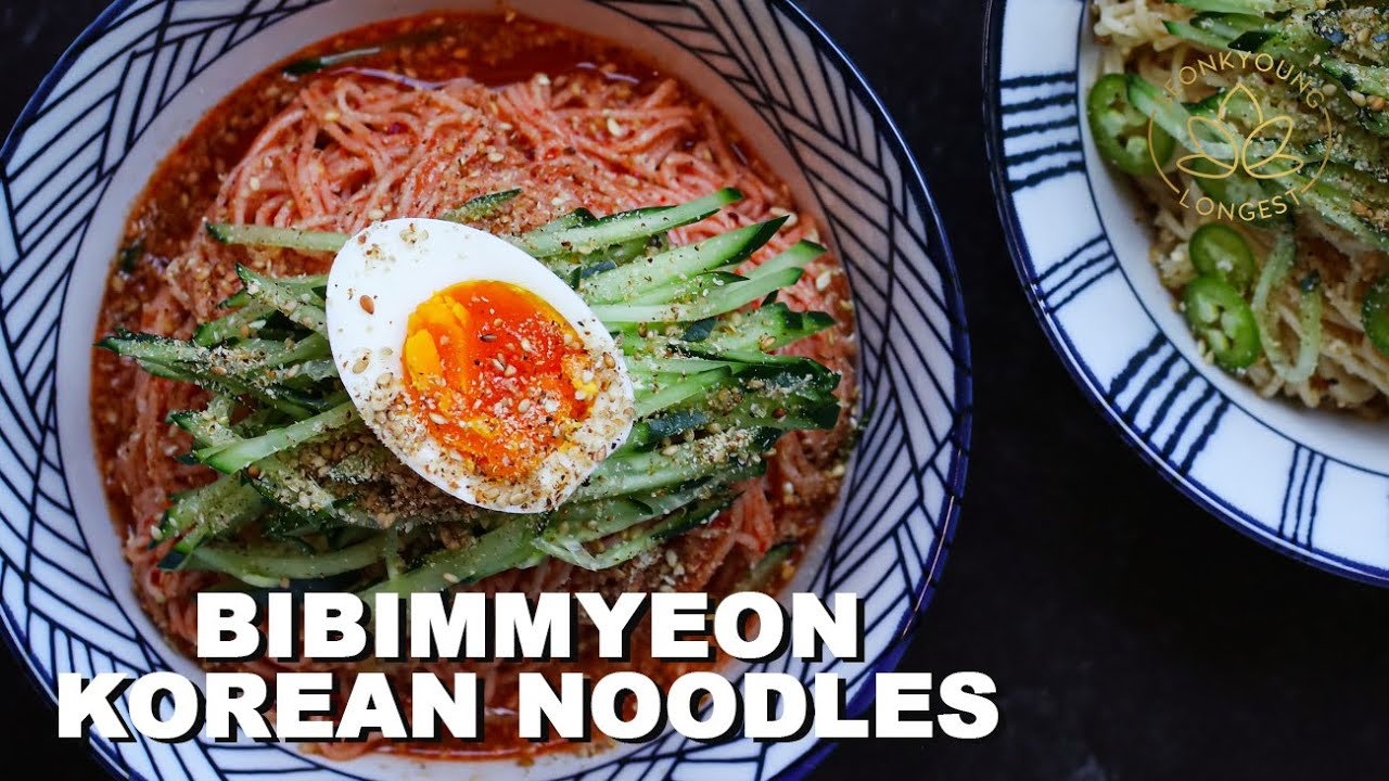 BIBIMMYEON EASY Korean Noodles Recipe 2 Ways