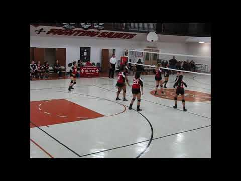 #2 Samantha Humble Christian School Cougars Volleyball 2018, FUN!