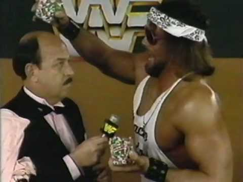 Macho Man vs. Mean Gene - WWF