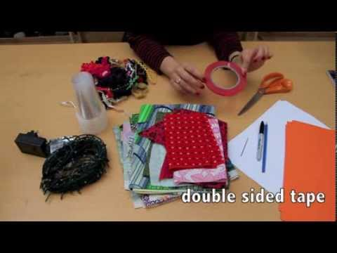 Make Your Own Lampshades by Elizabeth Cake book trailer