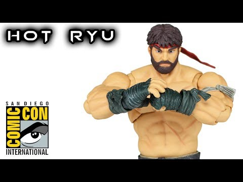 Storm Collectibles HOT RYU Street Fighter V SDCC 2017 Exclusive Action Figure Toy Review