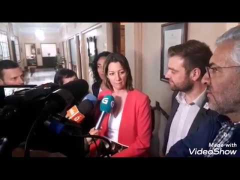 PSOE y BNG se reúnen en el Concello de Lugo