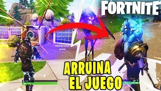 HACKER *ARRUINA FORTNITE* WILL TAKE YOU TO QUIEBRA - FORTNITE: Battle Royale