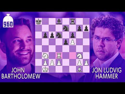 Chess 960 Match vs. GM Jon Ludvig Hammer