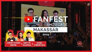 Youtube FanFest Makassar 2019   Day 2   Christopher Devin, Gritte Agatha, Hans Christian   #YTFFID