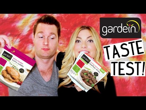GARDEIN TASTE TEST! [Vegan Beef, Chicken, Fish, Turkey & Pork]