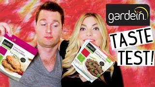 GARDEIN TASTE TEST! [Vegan Beef, Chicken, Fish, Turkey & Pork]