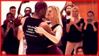 Marc Brewer & Emma Kat Housner - Zouk Dance Demonstration - Interfusion Festival Summer 2017