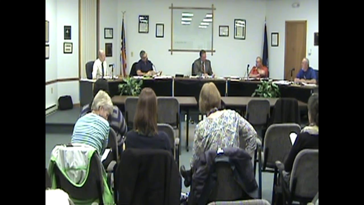 Rouses Point Village Board Meeting part two  4-18-16