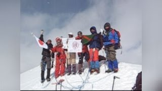 「福島の励みになれば」 未踏峰登頂のアタック隊 thumbnail