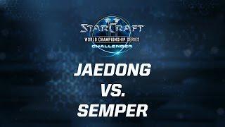 StarCraft 2 - Jaedong vs. Semper (ZvT) - WCS Season 3 Challenger AM - Match 2
