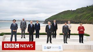 Boris Johnson kicks off G7 with plea to tackle inequality - BBC News