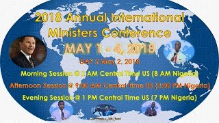 International Ministers Conference Day 2, [Evening Session] May 2, 2018