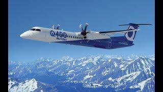 Авиакатастрофа. В США сотрудник аэропорта угнал пассажирский самолёт Bombardier Q400 (10.08.2018)