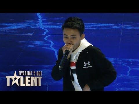 Htoo Htet Aung: Semi-Final 2   Myanmars Got Talent 2018