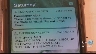 Hawaii residents look back on false missile alert one-year later