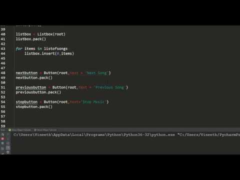 Music Player in Python - Part 2