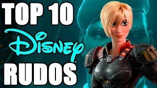 Top 10 Personajes Rudos de Disney