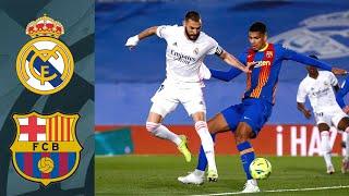 Реал Мадрид Барселона Эль Класико 2021 Ла Лига 30 й тур ОБЗОР FIFA ВАНГА Прогноз