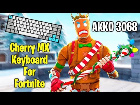 Cherry MX 60% Keyboard For Fortnite! AKKO 3068