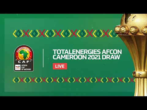 TotalEnergies AFCON Cameroon 2021 Draw - International feed