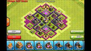 Clash of Clans-Top 5 TH7 Farming Bases