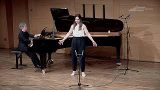 G. Rossini, Il barbiere di Siviglia: Una voce poco fa (Rosina) - Céline Akçağ, mezzo-soprano