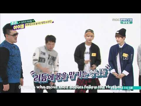 [ENG]140430 BTS Weekly Idol Intro+Raps