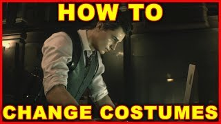 Resident Evil 2: How to Change Costumes & Outfits (2019 Remake)