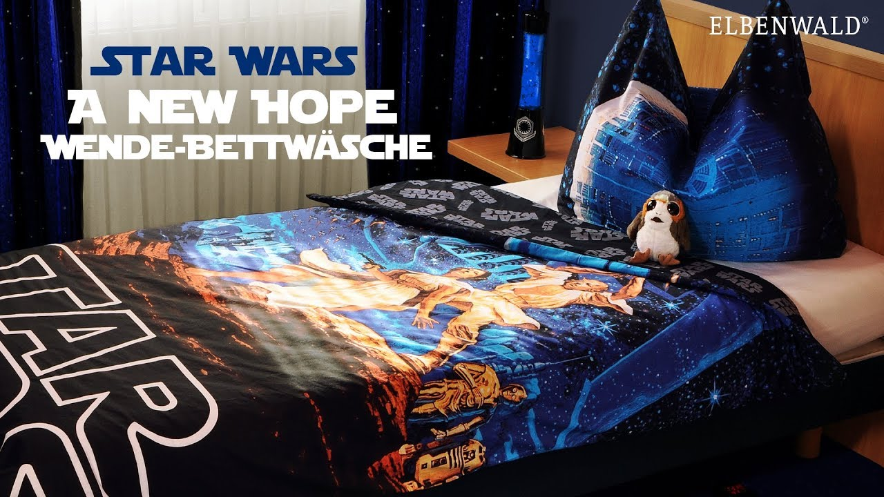 Bettwäsche Planeten Star Wars A New Hope Wende Bettwäsche