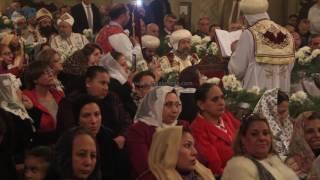 مصر العربية | استقبال البابا تواضروس بالزغاريد في احتفالات عيد الغطاس rO بالإسكندرية