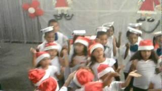 coreografia da música de natal