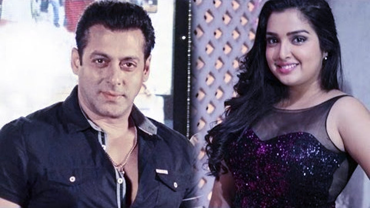 आखिर आम्रपाली ने सलमान से क्या पूछ डाला…!!   Amrapali Shares First Faceoff  Moment With Salman Khan - YouTube